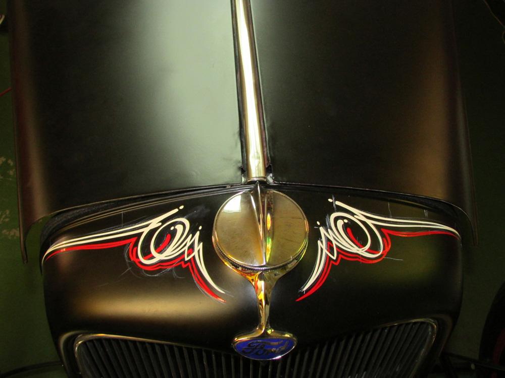 Pinstriping Cars